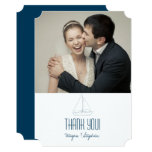 Wedding Sailboat - Thank You Card