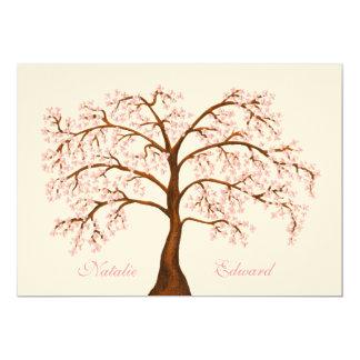 Wedding Sakura Cherry Blossom Tree Invitations