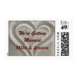 Wedding Sand Heart Stamps