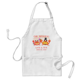 Wedding / Save The Date Announcement Adult Apron