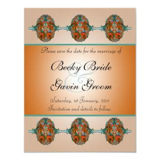 Wedding Save the Date Card Grecian
