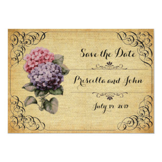 Wedding, Save the date, classic romantic Card