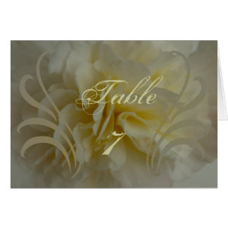 Wedding Save the Date Cream Floral Designs Card