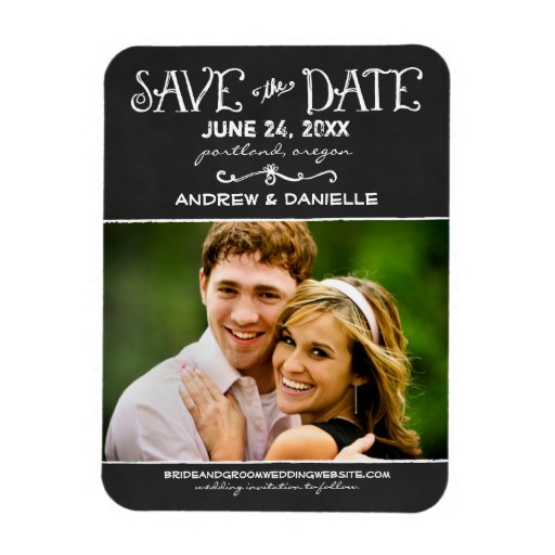 Wedding save the date magnets
