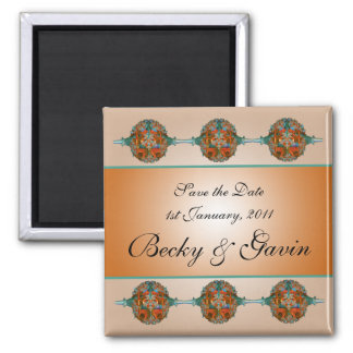 Wedding Save the Date Magnet Grecian