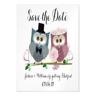 Wedding Save the Date Magnetic Card