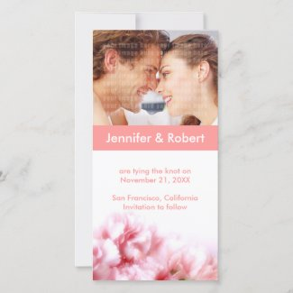 Wedding Save the Date Photo Card