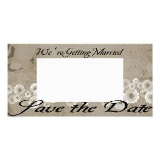 Wedding Save the Date Photocard Card