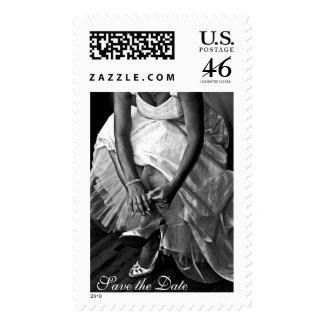 Wedding Save the Date Postage Stamp