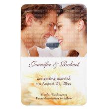 Wedding Save the Date Premium Magnet