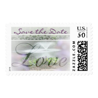 Wedding Save The Date Water Fountain Postage
