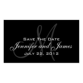 Wedding Save the Date Website Card Business Card