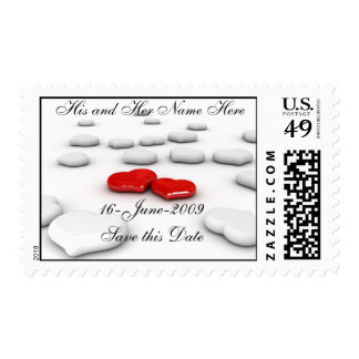 Wedding, Save This Date Stamp Postage