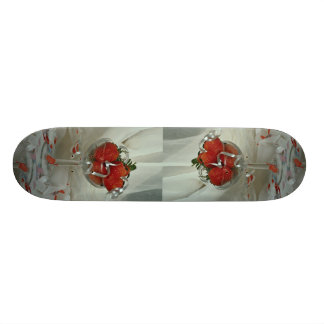 Wedding scene skate deck