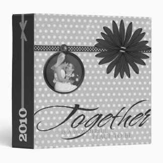 Wedding Scrapbook Binder, Photo Album or Planner 3 Ring Binder
