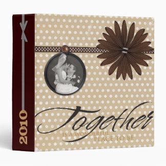 Wedding Scrapbook Binder, Photo Album or Planner Binder