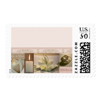 Wedding Scrapbook stamp Wedding Postage