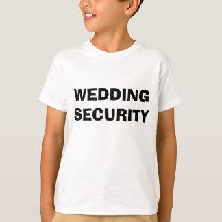 Wedding Security T-shirt