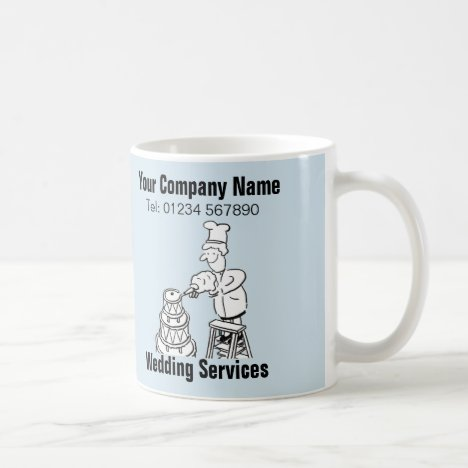 Wedding Services Cartoon Mug