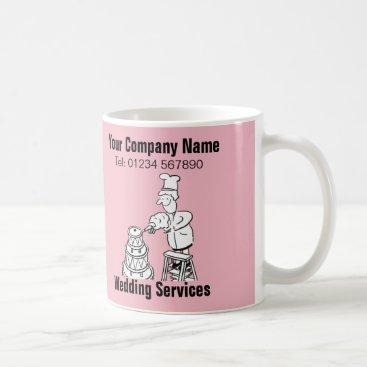 Wedding Themed Wedding Services Cartoon Mug