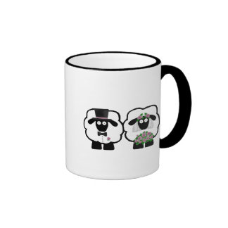 Wedding Sheep Mug