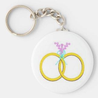 Wedding Shower 30 Basic Round Button Keychain