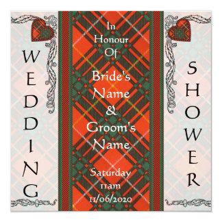 Wedding Shower Invite  -  Bruce Tartan