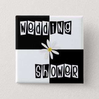 Wedding Shower Pinback Button