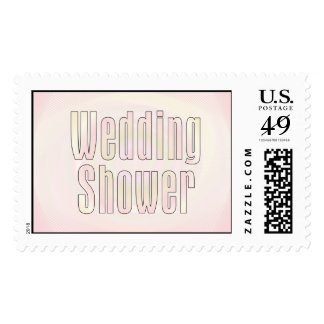 Wedding Shower Postage Stamp