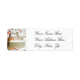 Wedding Shower Return Address Labels