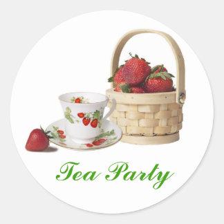 Wedding Shower Tea Party Stickers