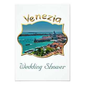 Wedding Shower Venetian-Style Party Invitation