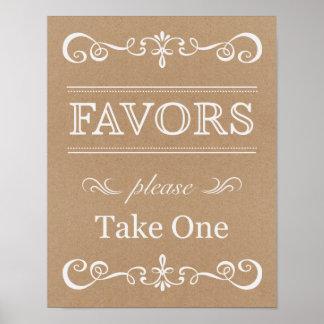 Wedding Sign – Favor Rustic Wedding Sign