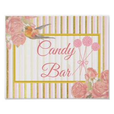 Wedding Themed Wedding Sign for Candy Bar, Pink Lollipops