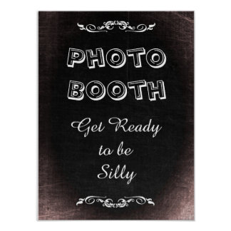 Wedding Sign for Photo Booth, chalkboard style