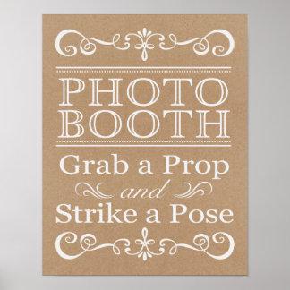 Wedding Sign – Photo Booth Rustic Wedding Sign