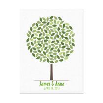 Wedding Signature Tree – Canvas