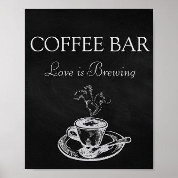 Coffee Themed Wedding Signs Coffee Bar