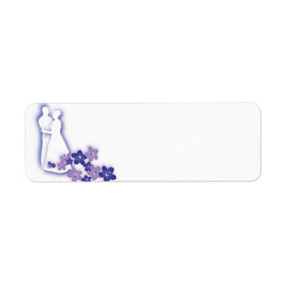 Wedding silhouette labels