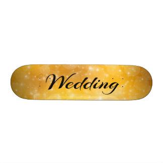 Wedding Skateboard