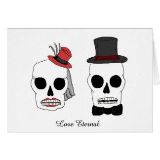 Wedding Skellies Greeting Card