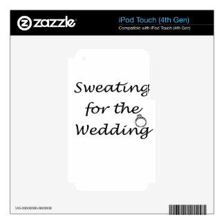 wedding skin for iPod touch 4G