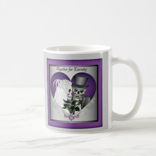 Wedding Skulls Coffee Mug