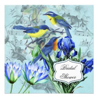 Wedding Songbirds Bridal Shower Invitation