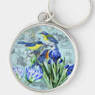 Wedding Songbirds Keychain