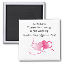 Wedding Souvenirs, Gifts, Giveaways for Guests Magnet