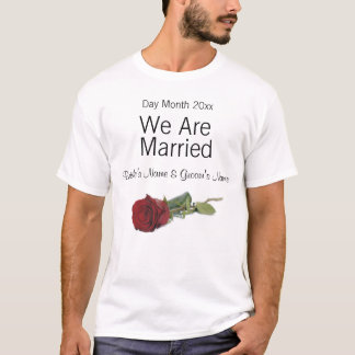 Wedding Souvenirs, Gifts, Giveaways for Guests T-Shirt