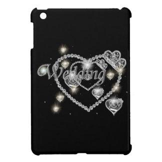 Wedding sparkles iPad mini covers