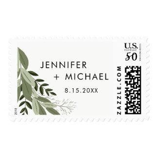 Wedding Sprigs Postage Stamp