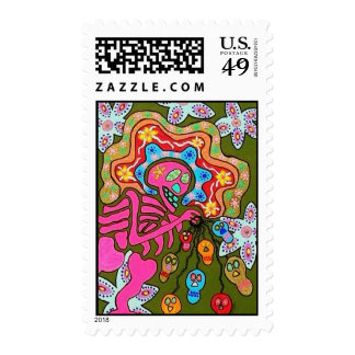 Wedding Stamp - Break The Chain Day Of The Dead
